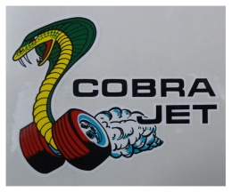 Decals & Stickers Cobra Jet Window Decal - DF0393