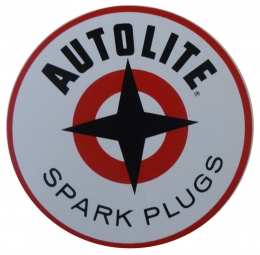 Autolite Spark Plug Decal - 4""