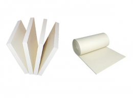 "White Sponge Rubber - 1/8"" Thick"