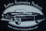 1953 Cadillac Hooded Sweatshirt - THIS IS A MADE TO ORDER ITEM - PLEASE ALLOW 2-3 WEEKS FOR DELIVERY