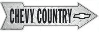 Arrow Sign - Chevy Country - LP-073