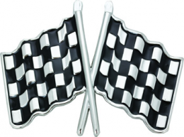Belt Buckle - Checkered Flags - CB-52