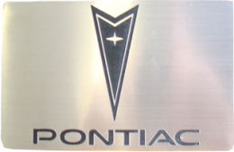 Belt Buckle - Pontiac - CB-56