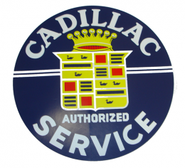Cadillac Service Decal - 11-1/2""