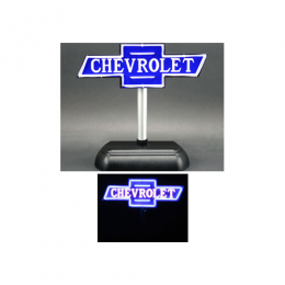 Chevy Desktop Neon Dealership Sign - GMPAC01002