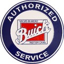 Circle Sign - Authorized Buick Service - LP-087