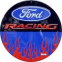 Circle Sign - Ford Racing