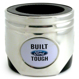 Ford Tough Piston Can Koozie