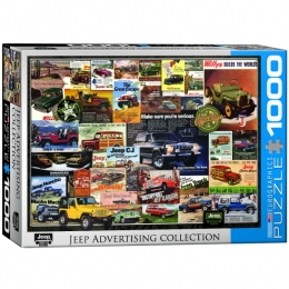 Jeep Advertising Collection Jigsaw Puzzle - PZ-003P