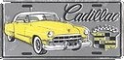 License Plate - 1949 Cadillac