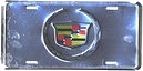 License Plate - Cadillac Crest (Anodized) - LP-007