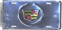 License Plate - Cadillac Crest (Anodized)
