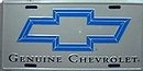 License Plate - Chevrolet Bow Tie - LP-009