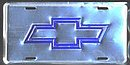 License Plate - Chevy - Anodized - LP-029