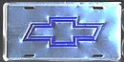 License Plate - Chevy - Anodized