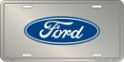 License Plate - Ford Logo