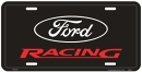 "License Plate - ""Ford Racing"""