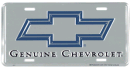 "License Plate - ""Genuine Chevrolet"""