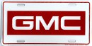 License Plate - GMC - LP-051