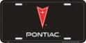 License Plate - Pontiac