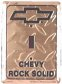 Light Switch Cover - Chevy Rock Solid