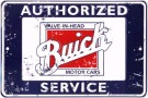 Metal Sign - Authorized Buick Service - LP-092