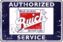 Metal Sign - Authorized Buick Service