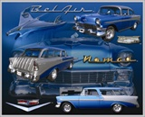 Metal Sign - Bel Air Nomad - LP-060