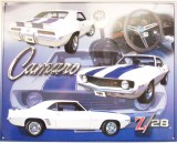 Metal Sign - Camaro Z-28 - LP-021
