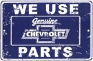 Metal Sign - Chevy Parts - LP-090