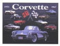 Metal Sign - Corvette Collage