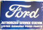 Metal Sign - Ford Service