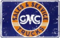 Metal Sign - GMC Sales & Service