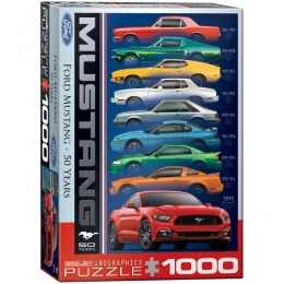 "Mustang ""50 Years"" Jigsaw Puzzle"