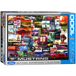Mustang Advertising Collection Jigsaw Puzzle - PZ-002P
