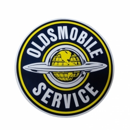 Oldsmobile Service Decal - 12