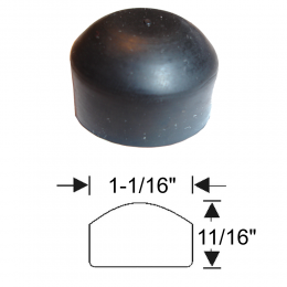 Rubber Parts Bumper Cap - 04-140B
