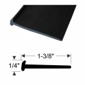 "Mounting Pad  - With Lip - 1-3/8"" Wide"