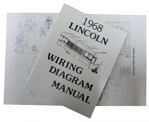 pr64908img1 1968 lincoln restoration parts wiring diagram manual mp0255