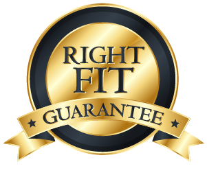 RIGHT FIT GUARANTEE